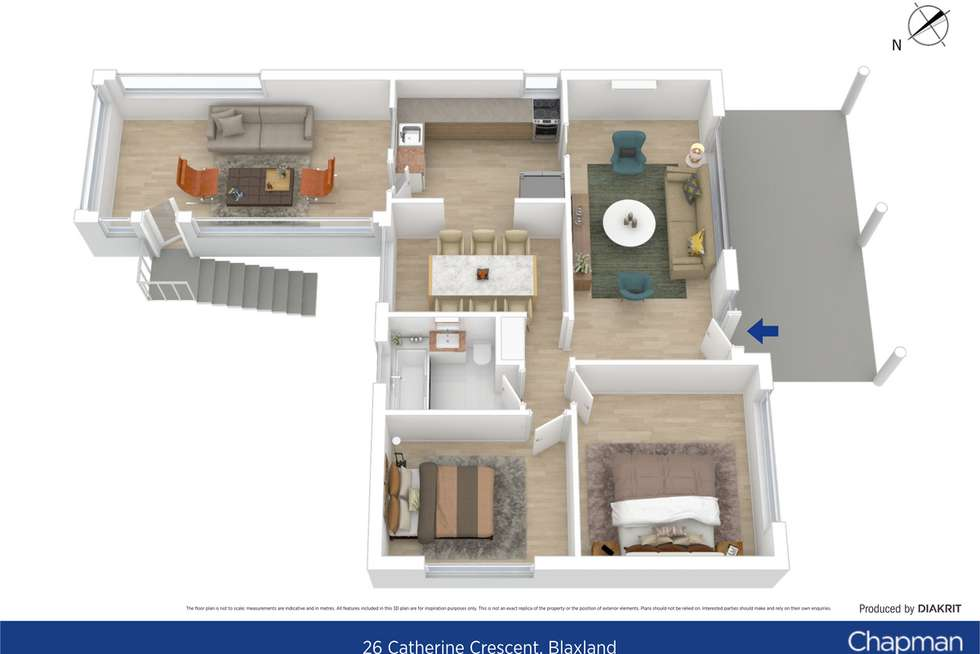 Floorplan of Homely house listing, 26 Catherine Crescent, Blaxland NSW 2774