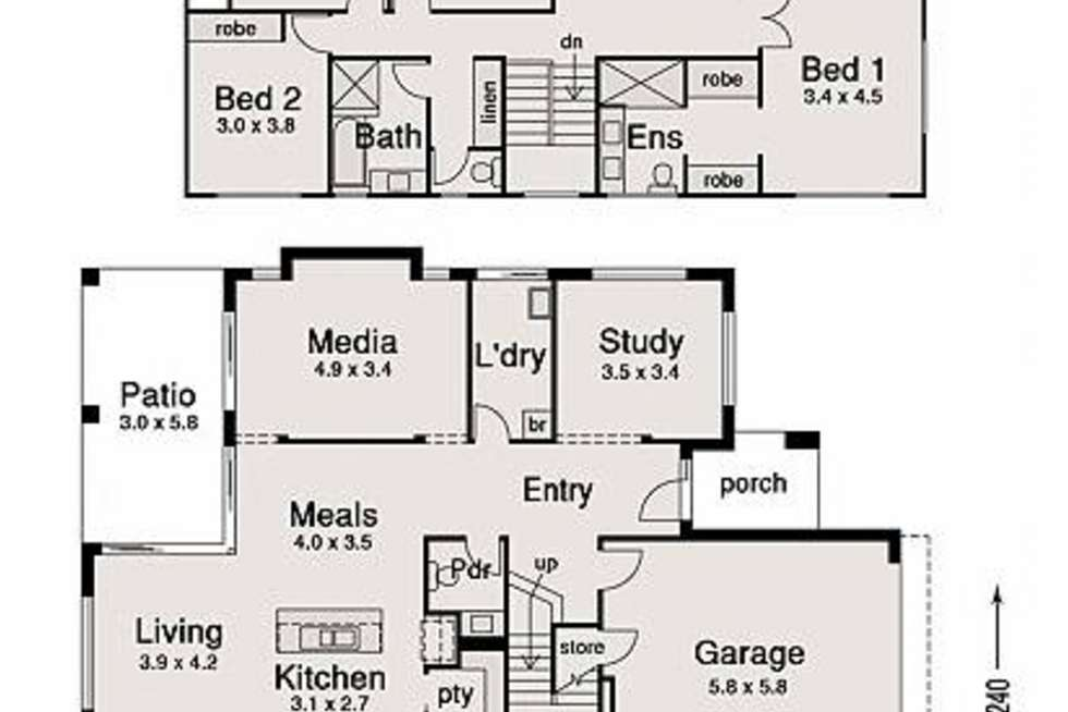 Floorplan of Homely house listing, 19 Pamphlett Street, Oxley QLD 4075