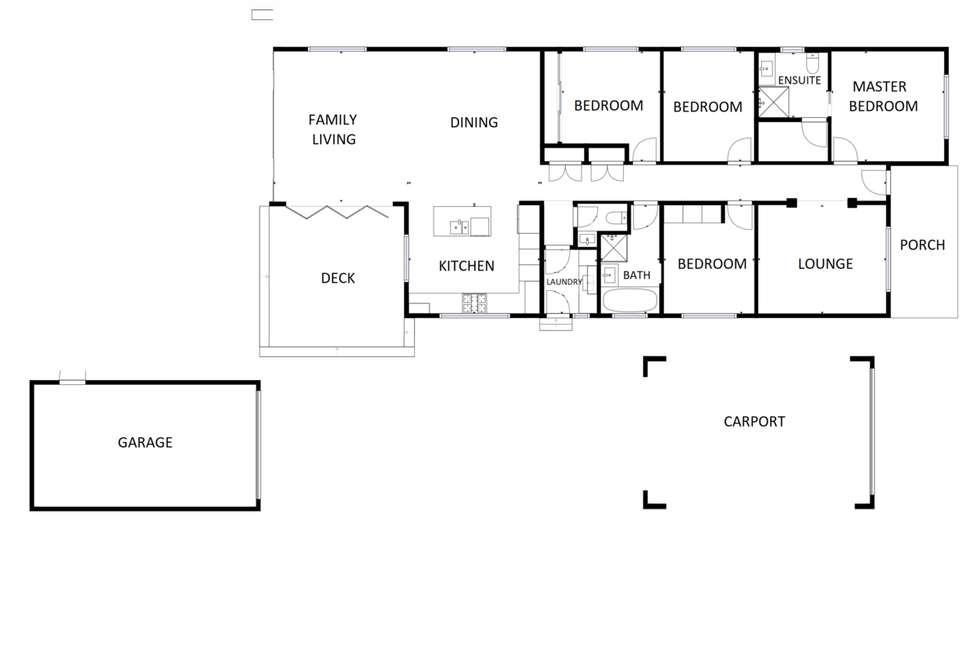 Floorplan of Homely house listing, 62 William Street, Wodonga VIC 3690