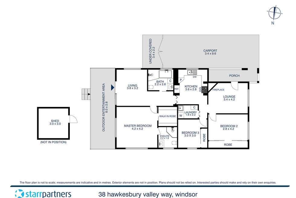 Floorplan of Homely house listing, 38 Hawkesbury Valley Way, Windsor NSW 2756