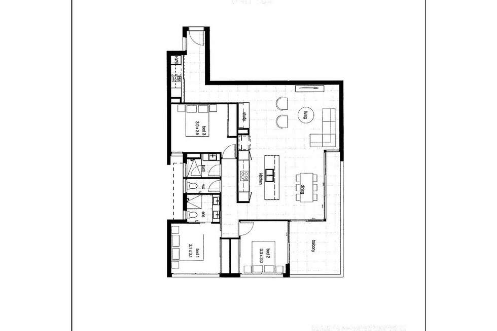 Floorplan of Homely apartment listing, 304/25 Baden Powell Street, Maroochydore QLD 4558