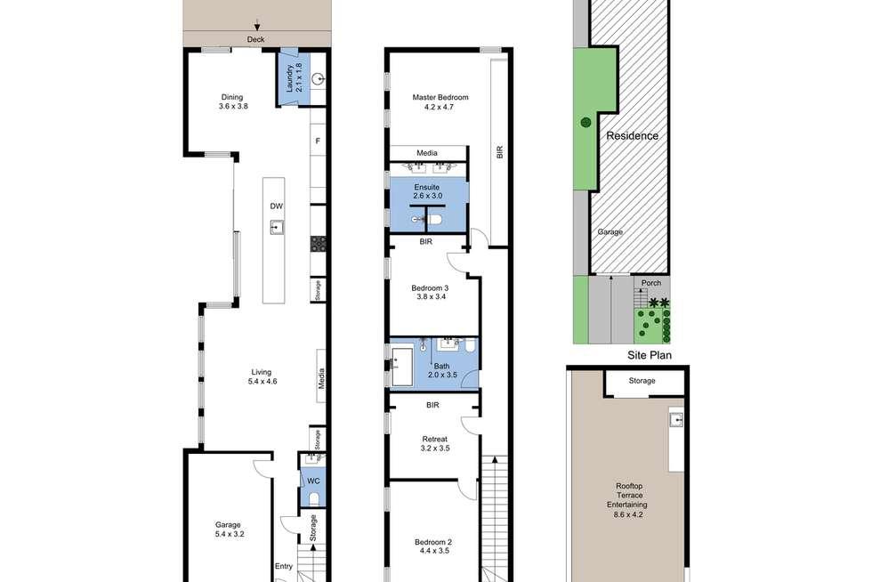 Floorplan of Homely house listing, 171 Brunker Road, Adamstown NSW 2289