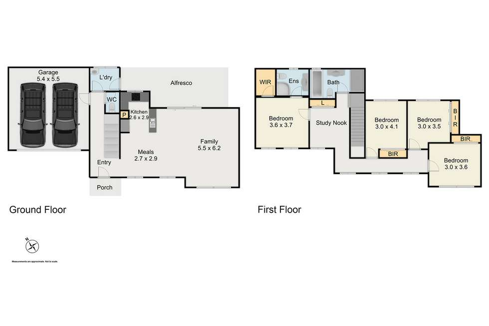 Floorplan of Homely house listing, 1 Anitra Place, Shalvey NSW 2770