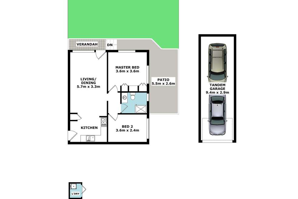 Floorplan of Homely unit listing, 6/19 Victor Street, Holland Park QLD 4121