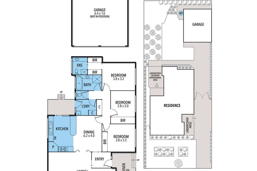 Floorplan of Homely house listing, 7 Deacon Court, Drysdale VIC 3222