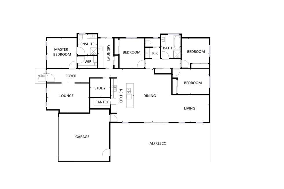 Floorplan of Homely house listing, 7 Derrick Street, Wodonga VIC 3690