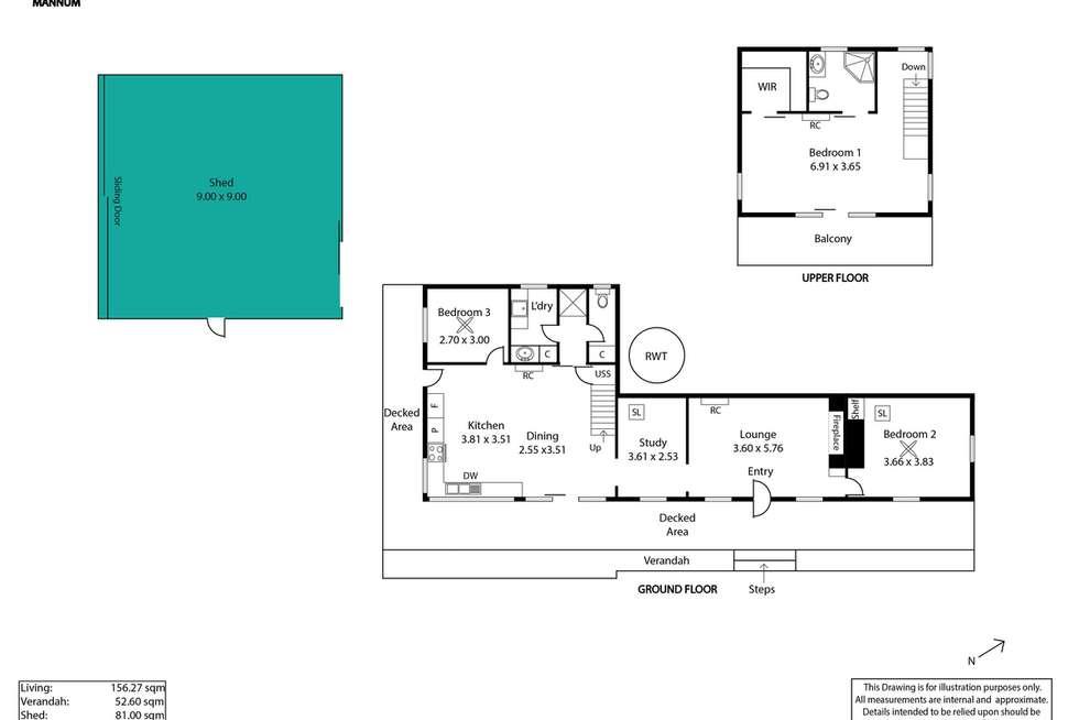 Floorplan of Homely house listing, 139 River Lane, Mannum SA 5238