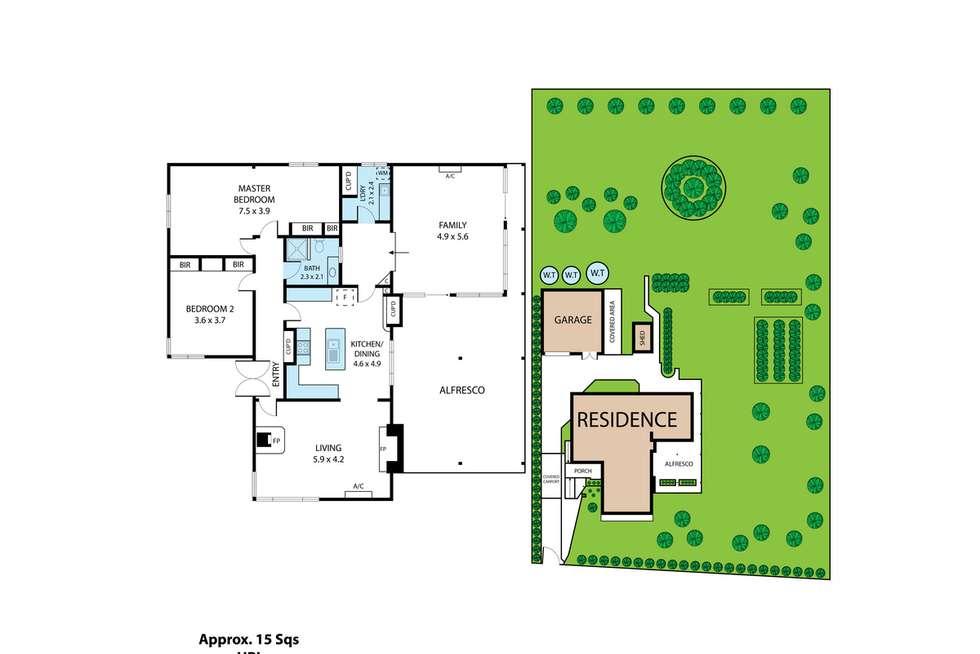 Floorplan of Homely house listing, 75 Becks Bridge Road, Newborough VIC 3825