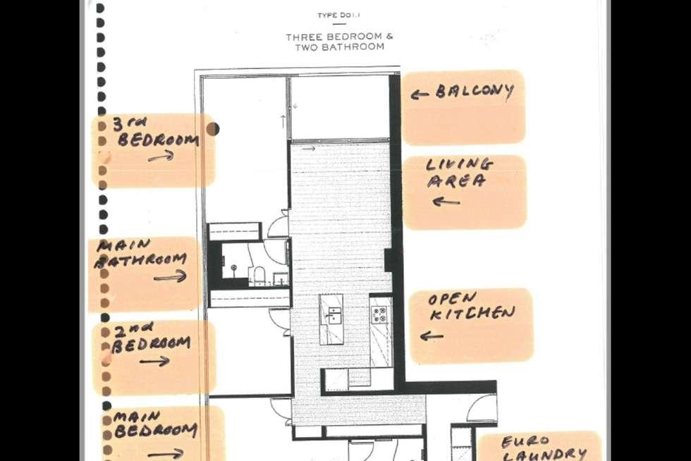 Floorplan of Homely apartment listing, 1602/478 St Kilda Road, Melbourne VIC 3004