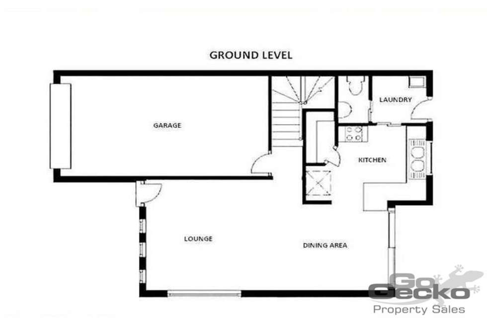 Floorplan of Homely townhouse listing, 23/9 Pitt Road, Burpengary QLD 4505