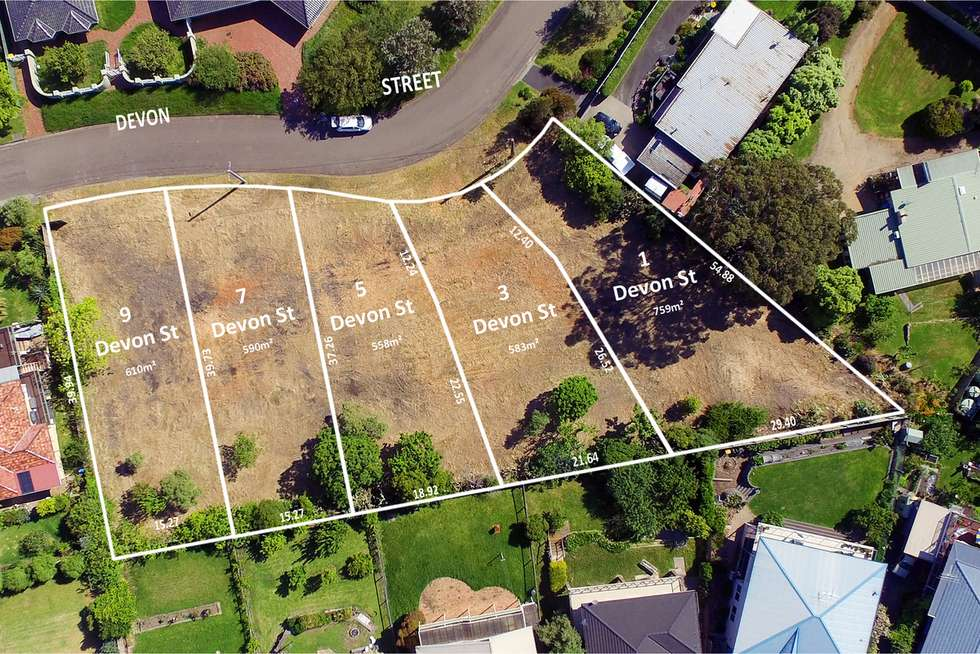 Floorplan of Homely residentialLand listing, 3 Devon Street, Dromana VIC 3936