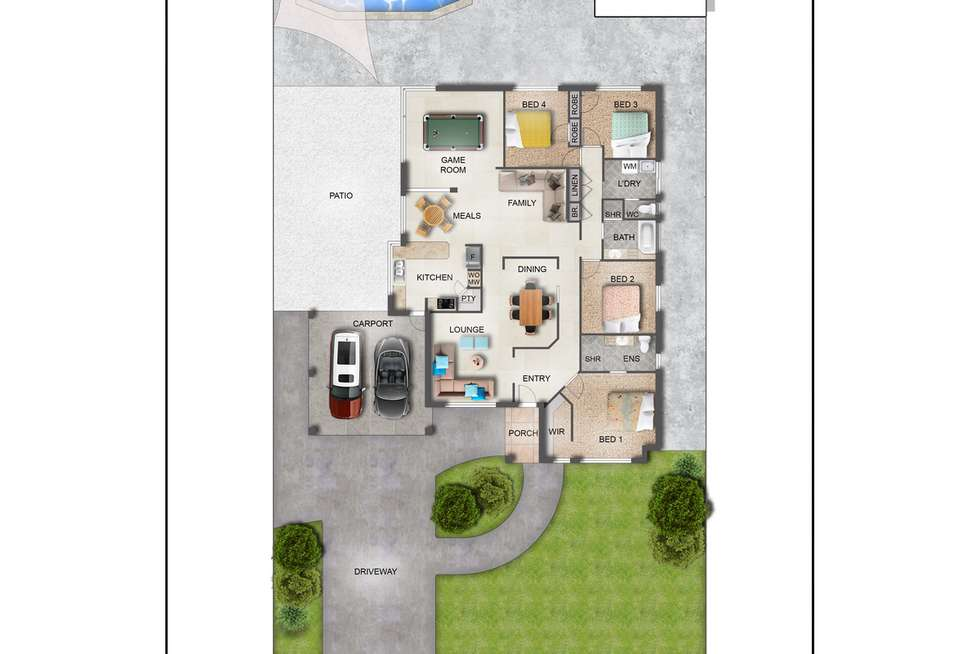 Floorplan of Homely house listing, 22 Hawkesbury Retreat, Atwell WA 6164