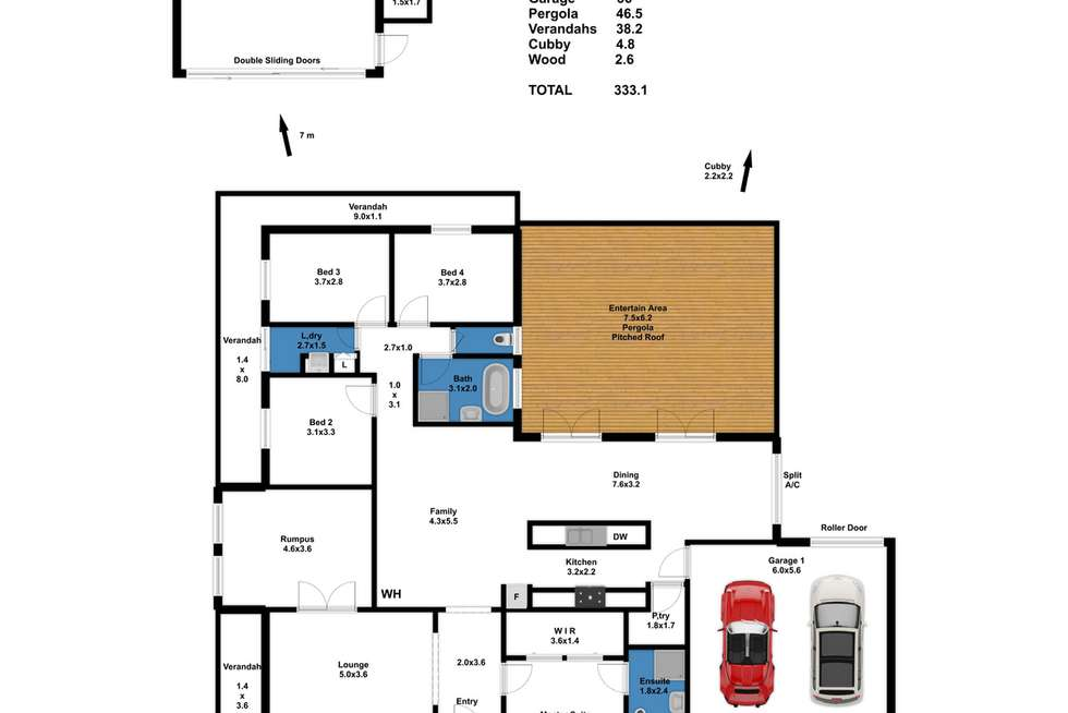 Floorplan of Homely house listing, 26 Ruby Drive, Mannum SA 5238