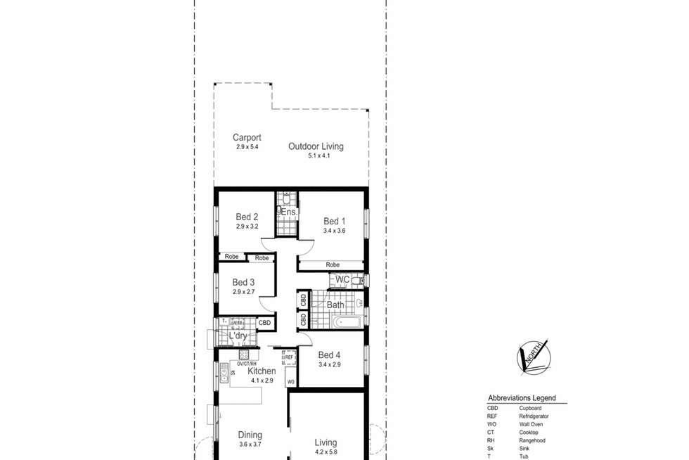 Floorplan of Homely house listing, 178 Gurwood Street, Wagga Wagga NSW 2650