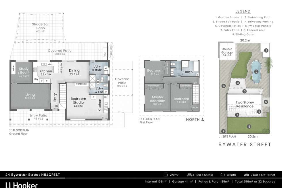 Floorplan of Homely house listing, 24 Bywater Street, Hillcrest QLD 4118