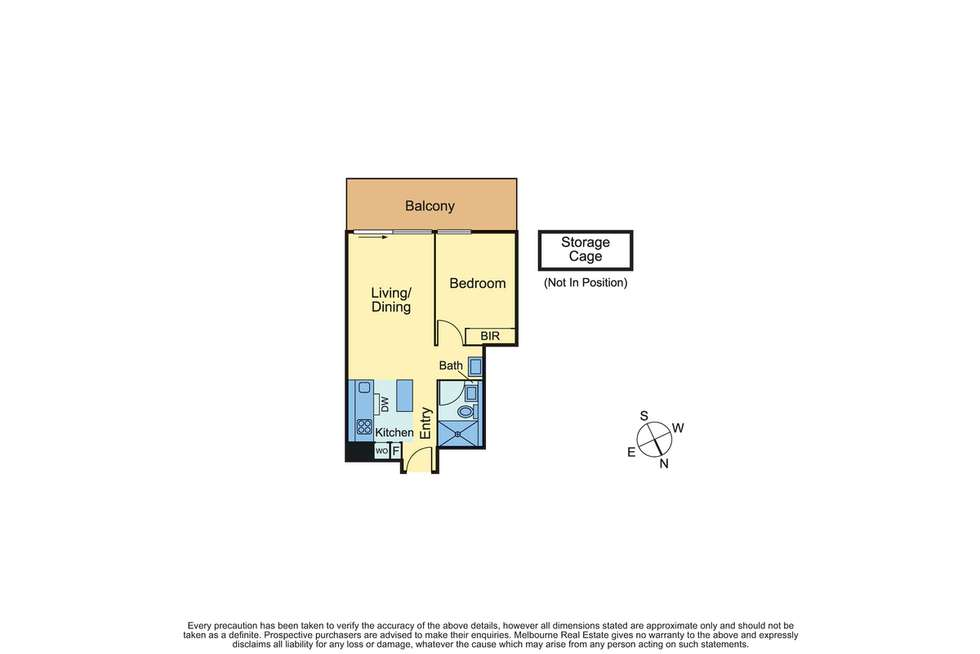 Floorplan of Homely apartment listing, 108/166 Gertrude Street, Fitzroy VIC 3065
