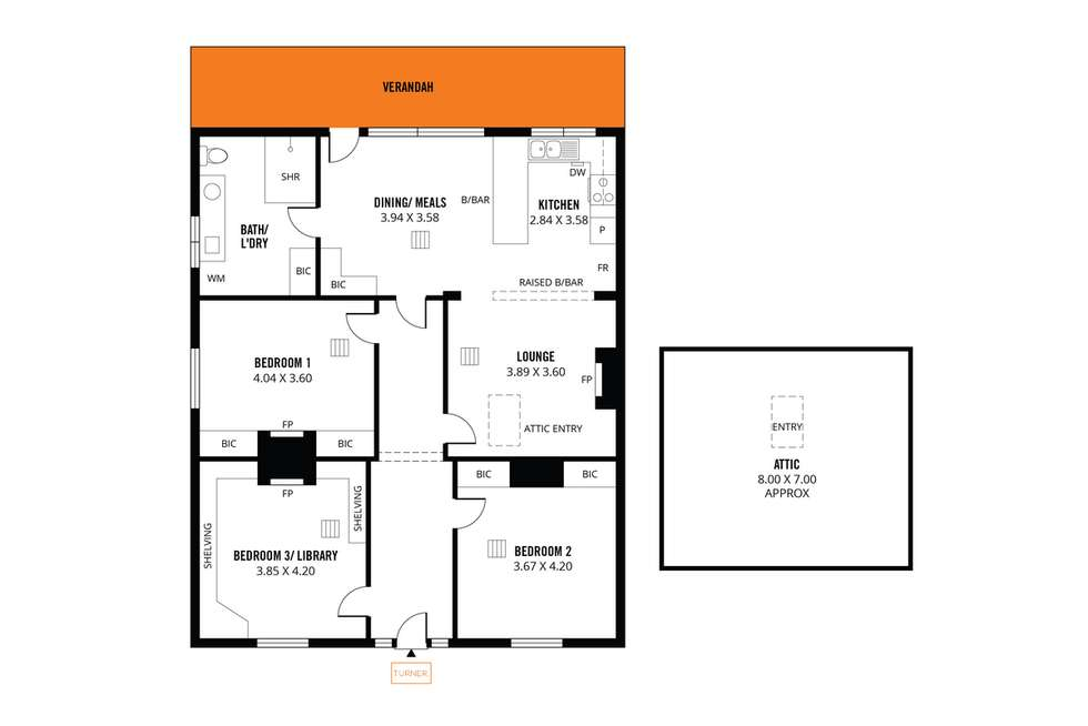 Floorplan of Homely house listing, 29 Tomsey Street, Adelaide SA 5000