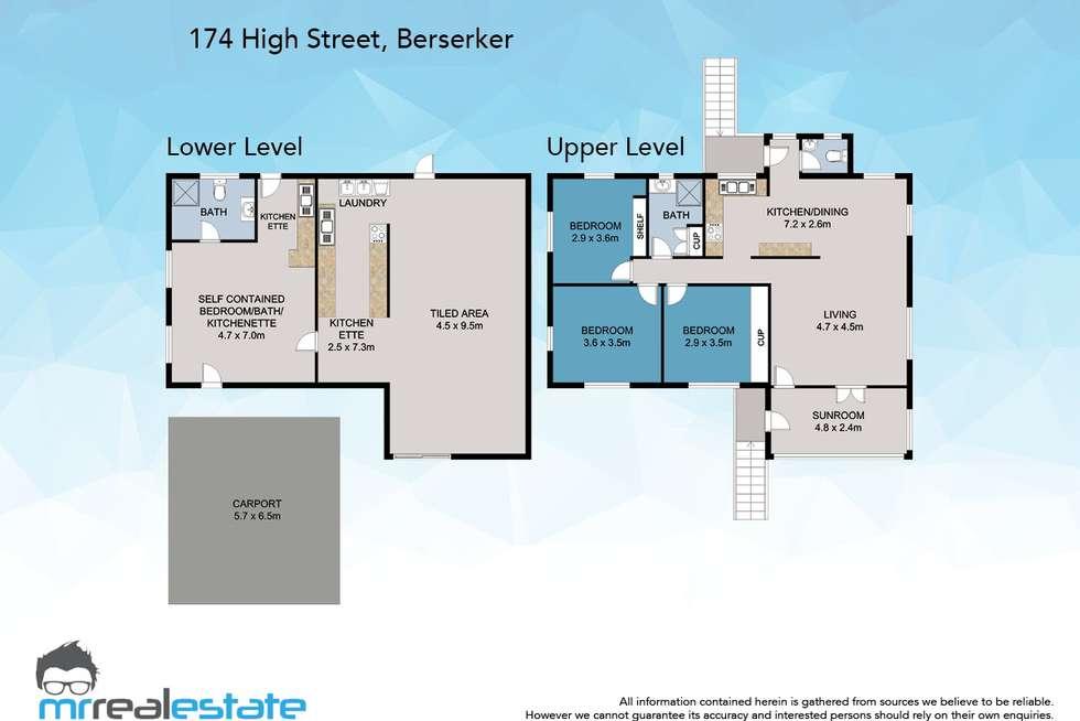 Floorplan of Homely house listing, 174 High Street, Berserker QLD 4701