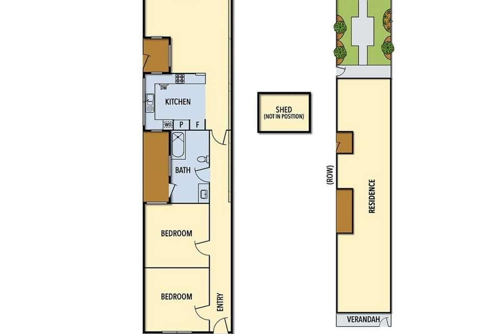 Floorplan of Homely house listing, N.20 Hilton Street, Clifton Hill VIC 3068