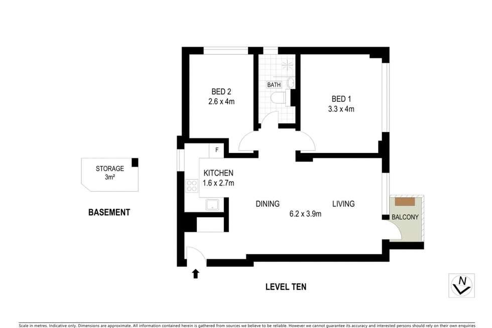 Floorplan of Homely apartment listing, 8 Fullerton Street, Woollahra NSW 2025