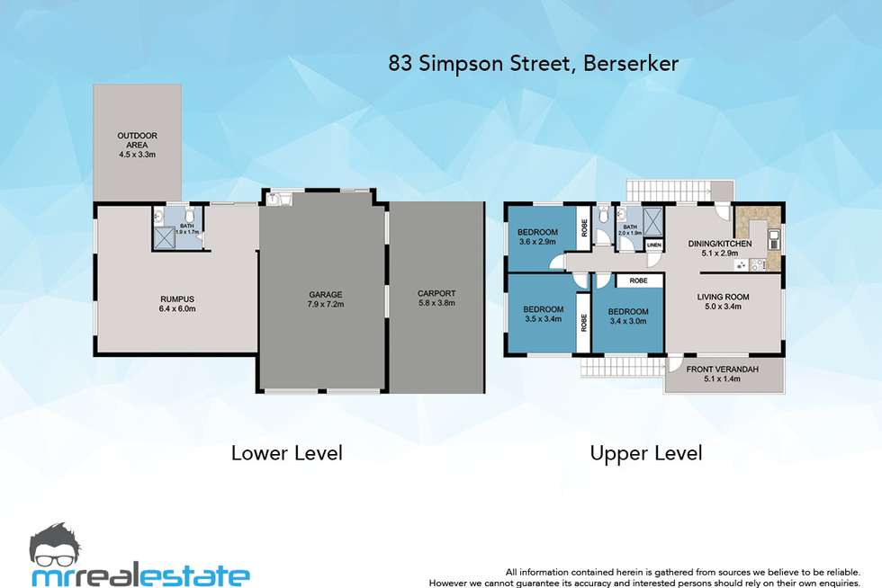 Floorplan of Homely house listing, 83 Simpson Street, Frenchville QLD 4701