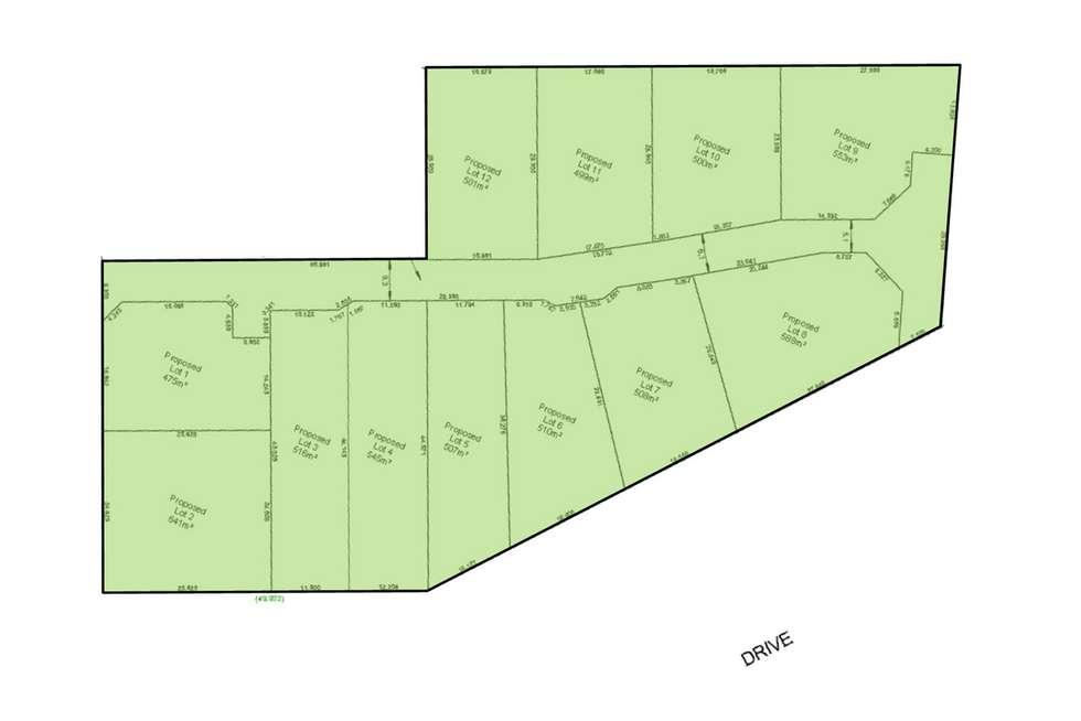 Floorplan of Homely residentialLand listing, LOT 2/116 Astley Street, Gosnells WA 6110