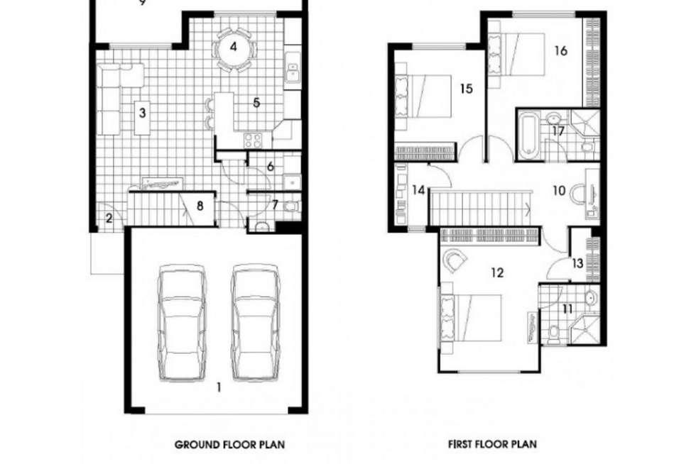 Floorplan of Homely villa listing, 4/446 Pine Ridge Road, Coombabah QLD 4216
