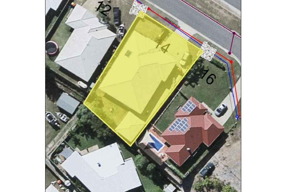 Floorplan of Homely house listing, 14 Leslie Street, Clinton QLD 4680