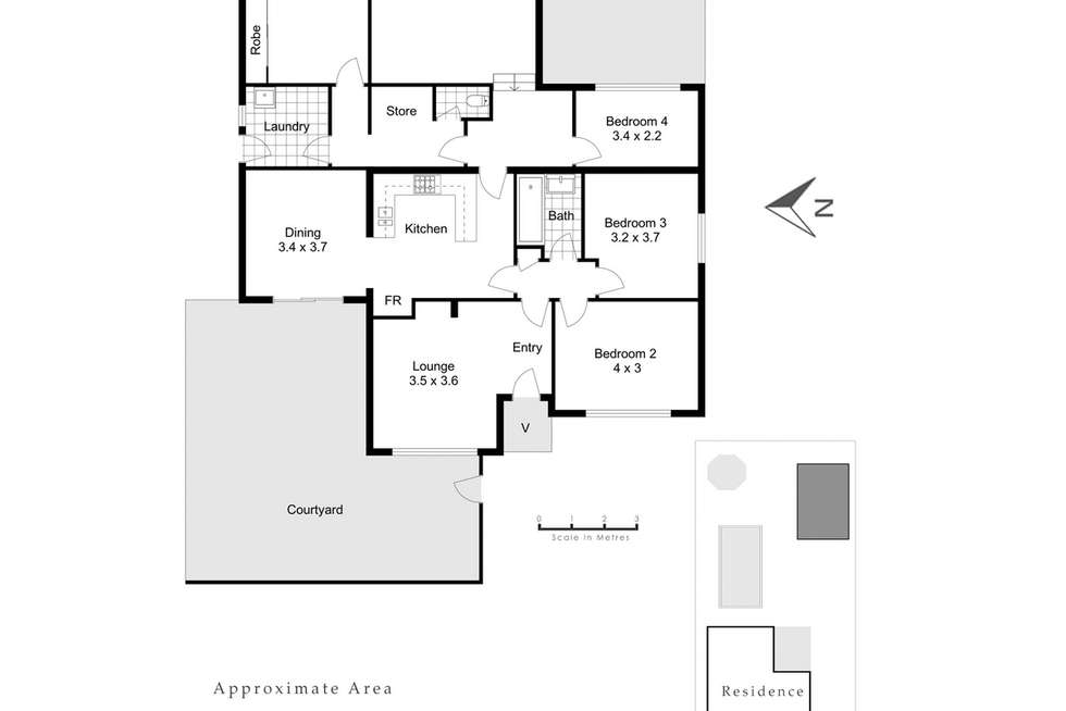 Floorplan of Homely house listing, 56 Strickland Street, Mount Claremont WA 6010