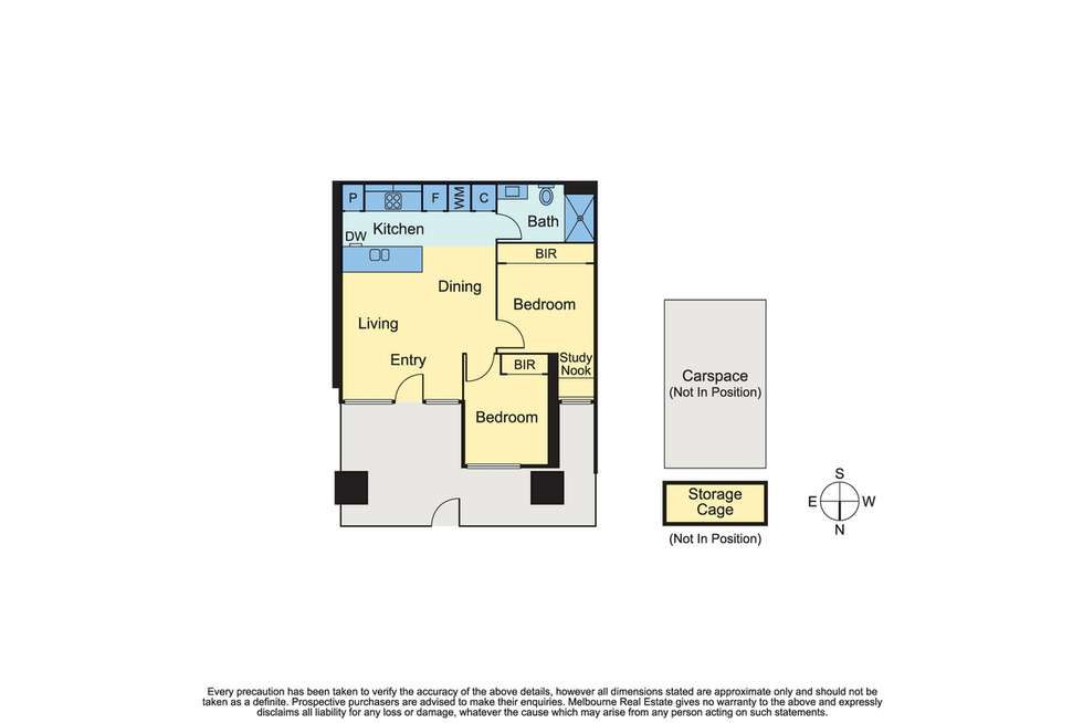 Floorplan of Homely apartment listing, 2/40 Hall Street, Moonee Ponds VIC 3039