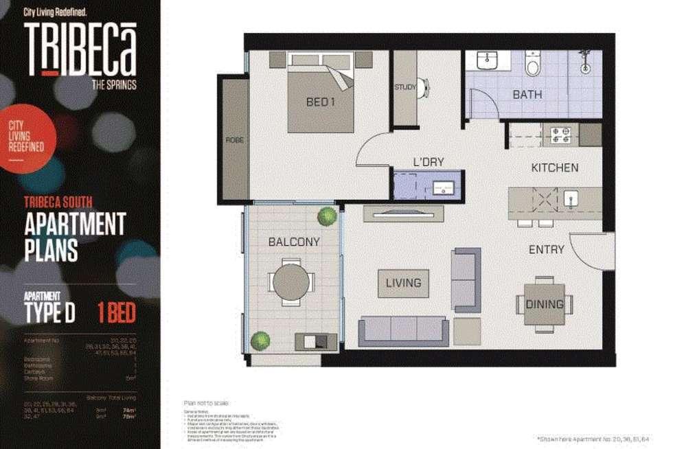 Floorplan of Homely apartment listing, 47/8 Hawksburn Road, Rivervale WA 6103