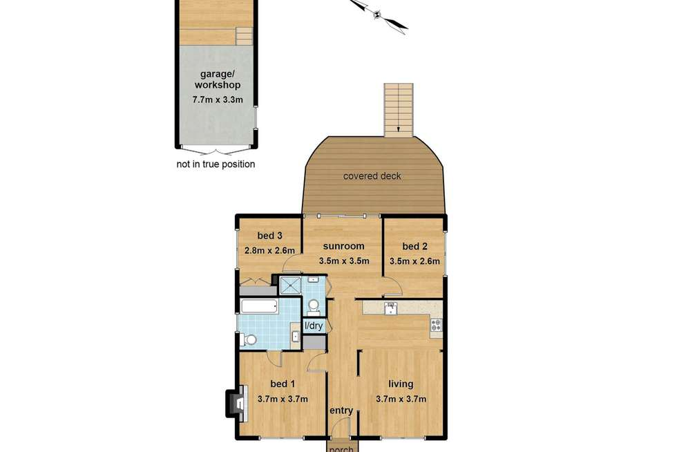 Floorplan of Homely house listing, 19 Edmunds Road, Cockatoo VIC 3781