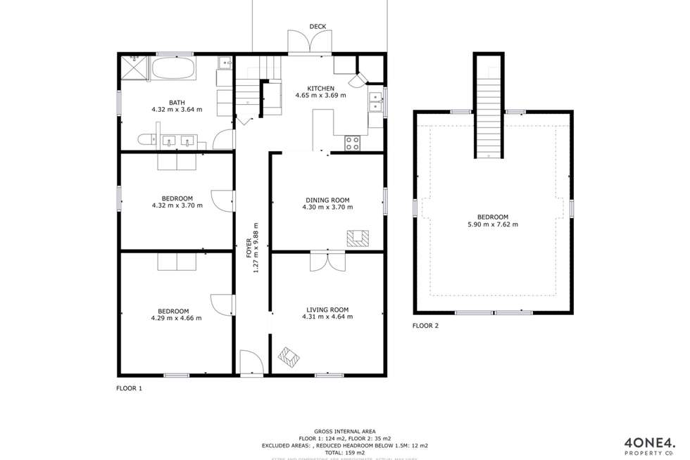 Floorplan of Homely house listing, 37 Swan Street, Bagdad TAS 7030