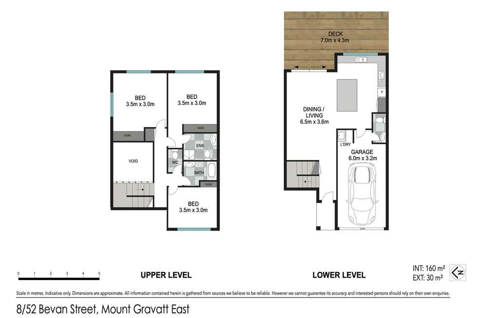 Floorplan of Homely townhouse listing, 8/52 Bevan Street, Mount Gravatt East QLD 4122