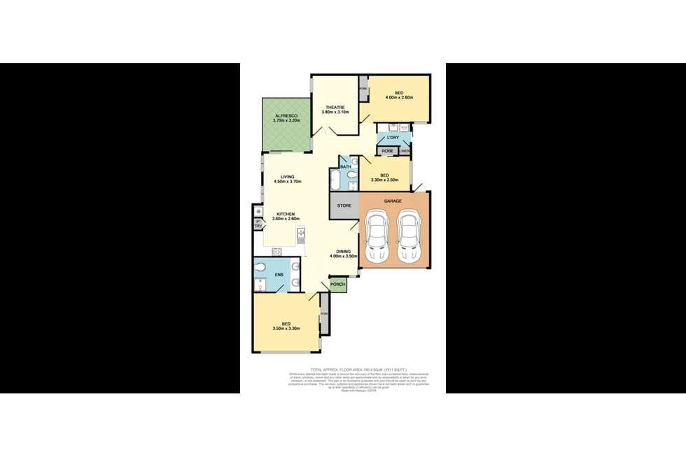 Floorplan of Homely house listing, 49C Hillsborough Drive, Nollamara WA 6061