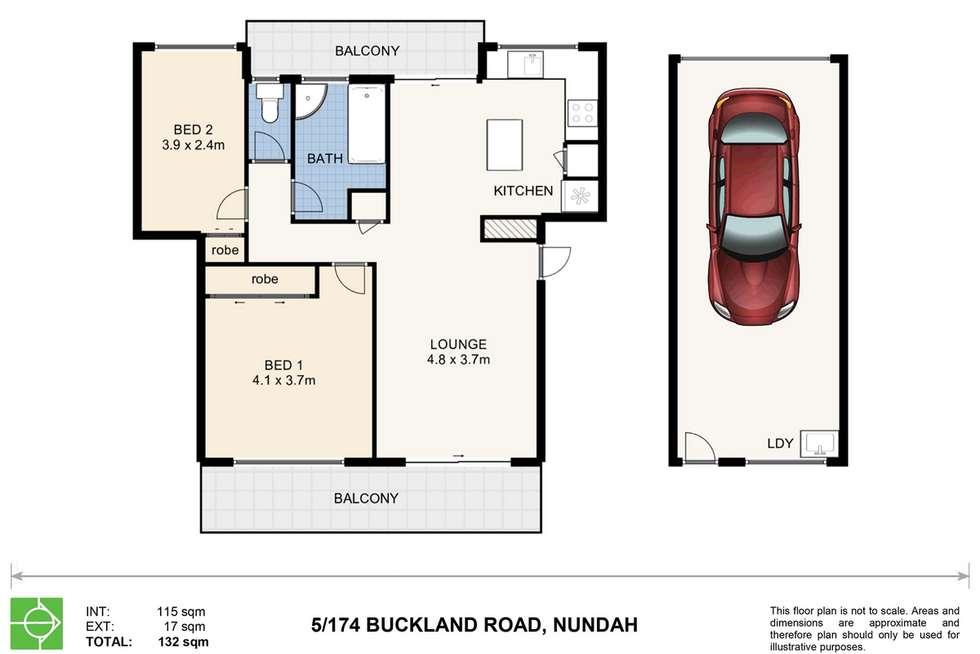 Floorplan of Homely unit listing, 5/174 Buckland Road, Nundah QLD 4012