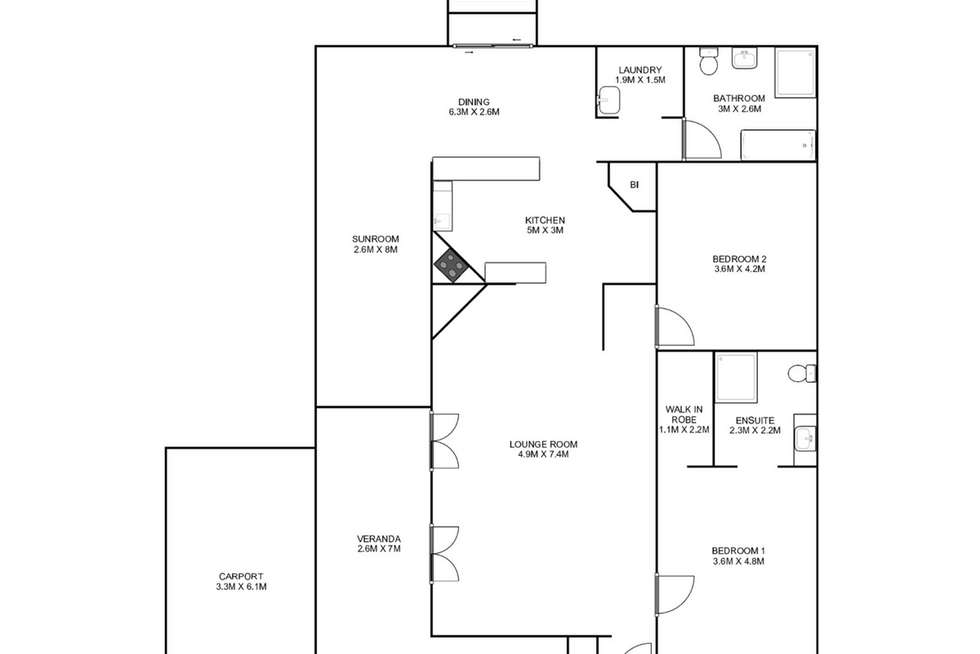 Floorplan of Homely house listing, 135 Bent Street, South Grafton NSW 2460