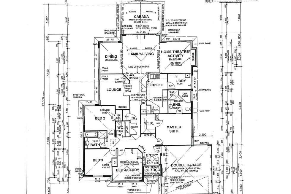 Floorplan of Homely house listing, 15 Brittain Road, Wattle Grove WA 6107