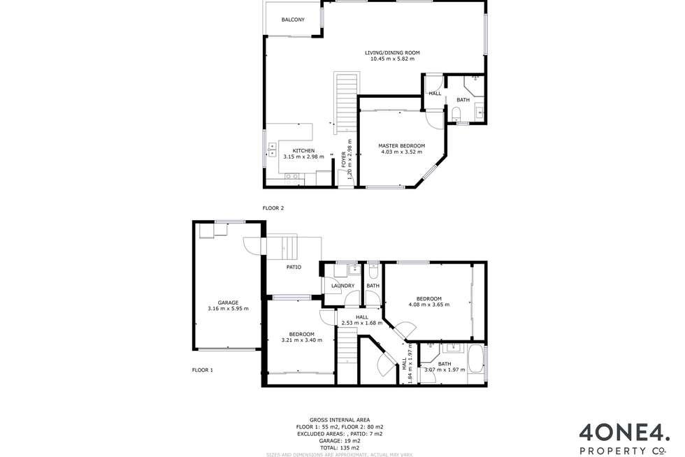 Floorplan of Homely house listing, 38 Branscombe Road, Claremont TAS 7011