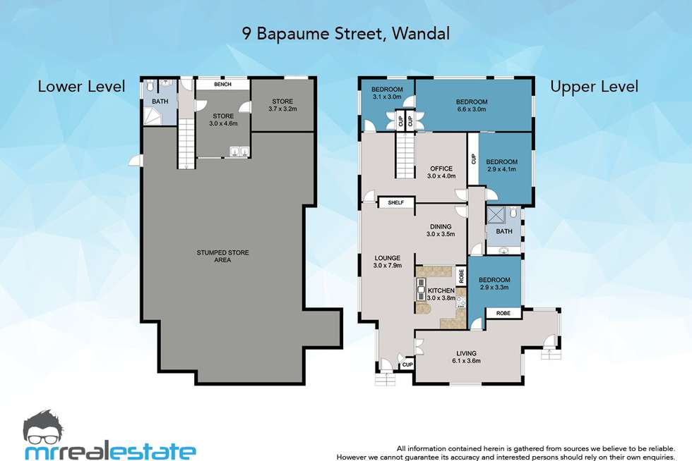 Floorplan of Homely house listing, 9 Bapaume Street, Wandal QLD 4700