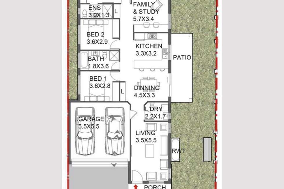 Floorplan of Homely house listing, 47 Oliver Street, Riverstone NSW 2765