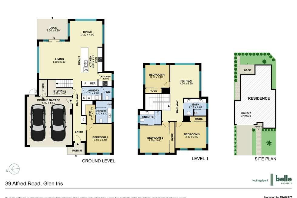 Floorplan of Homely house listing, 39 Alfred Road, Glen Iris VIC 3146