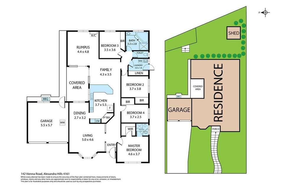 Floorplan of Homely house listing, 142 Vienna Road, Alexandra Hills QLD 4161
