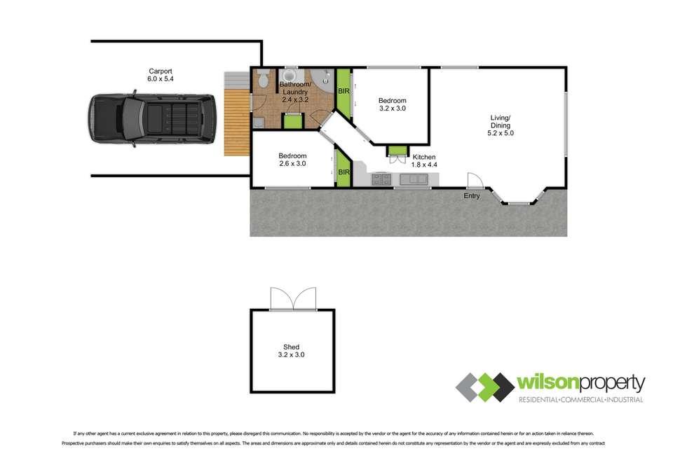 Floorplan of Homely house listing, 101/26-28 Park Lane (Northumberland Street), Traralgon VIC 3844