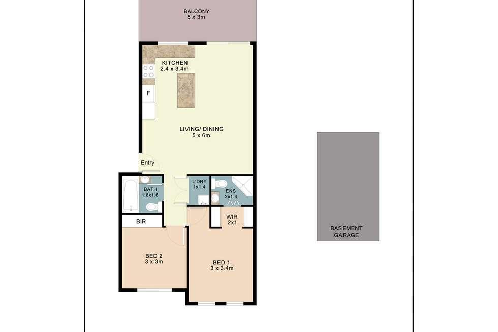 Floorplan of Homely apartment listing, 7/174 Bridge Road, Westmead NSW 2145
