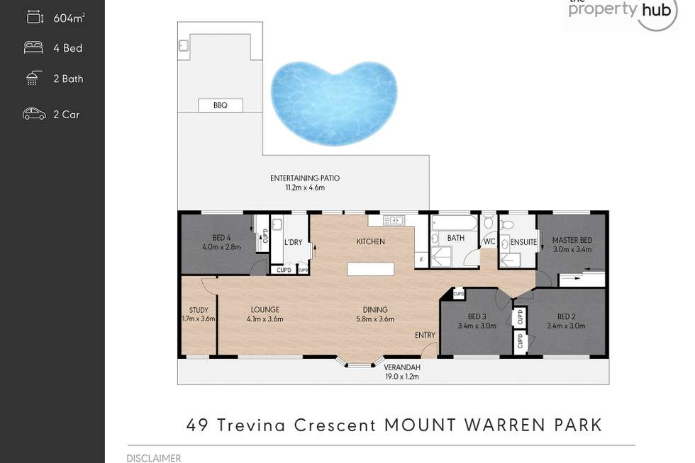 Floorplan of Homely house listing, 49 Trevina Crescent, Mount Warren Park QLD 4207