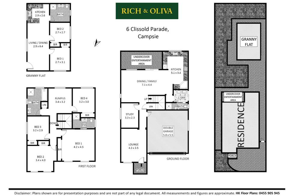 Floorplan of Homely house listing, 6 Clissold Parade, Campsie NSW 2194