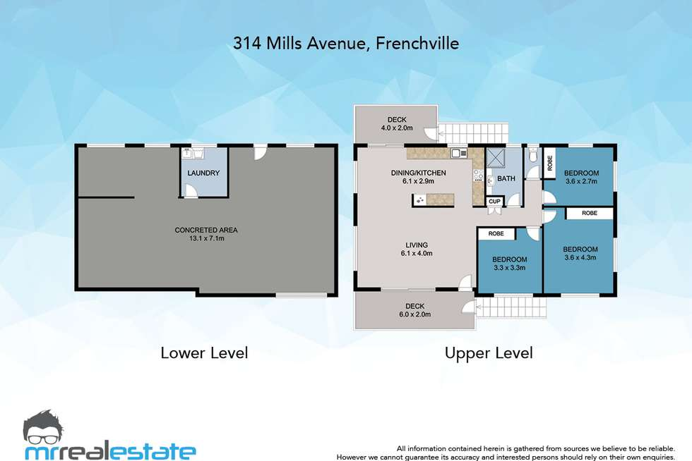 Floorplan of Homely house listing, 314 Mills Avenue, Frenchville QLD 4701