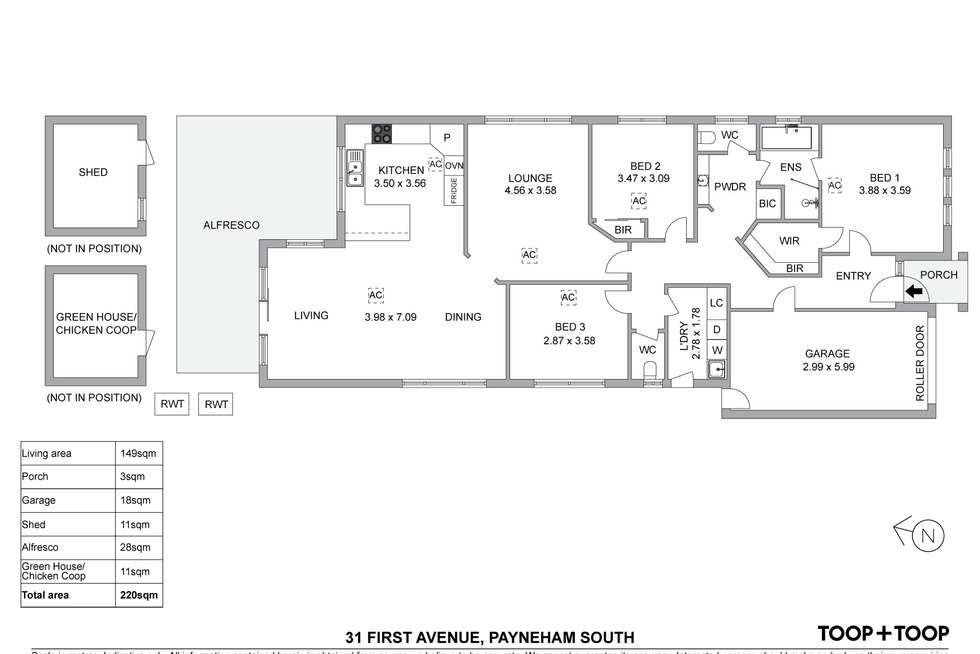 Floorplan of Homely house listing, 31 First Avenue, Payneham South SA 5070