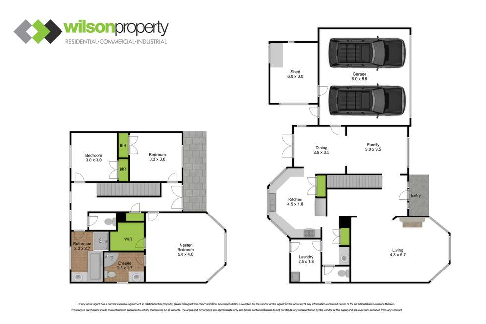 Floorplan of Homely house listing, 6 Henry Street, Traralgon VIC 3844